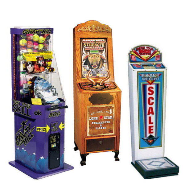 CoinOp Redemption Machines