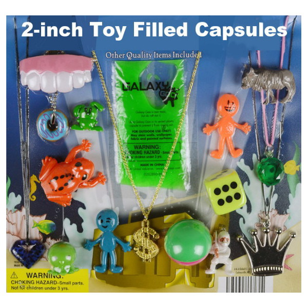2-inch Toy Filled Capsules