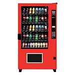 AMS Rugged High Security Outside 40 Selection Cold Drink & Soda Vending Machine