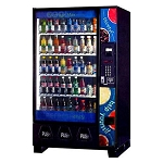 BevMax 5591 Factory Refurbished (Live Display) Multi-Price 45 Selection Cold Beverage Vending Machine