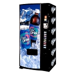 Dixie Narco 501E Factory Refurbished (Panel Door) Multi-Price 9 Selection Bottle / Can Soda Vending Machine