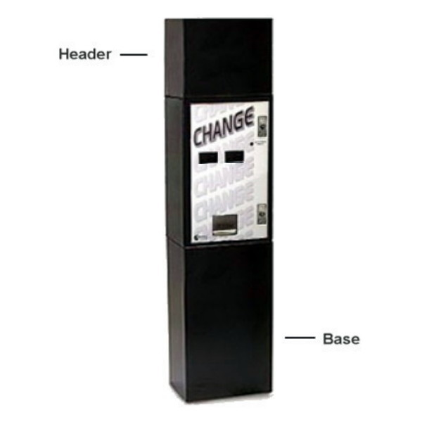Standard Change Makers MC-720DA Dual Bill Acceptor & Dual Hopper Bill  Changer