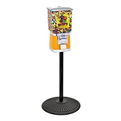 VendPro Classic Square Head (ABS Body) 15-inch Candy Vending Machine w/Retro Stand
