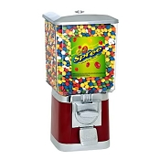 VendPro Classic Square Head (Metal Body) 15-inch Candy Vending Machine