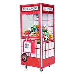 Telephone 33-inch Arcade Action Skill Crane Claw Plush & Prize Machine