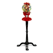 Carousel Old Columbia 15-inch Personal Gumball Vending Machine w/Stand