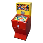 Flip & Win Combination Gumball Machine & Pinball Game