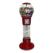 Road Runner Spiral 5-Foot Gumball Vending Machine w/Large Capacity Globe