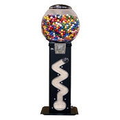 The Viper Zig Zag Gumball Vending Machine w/Large Capacity Globe