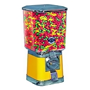 Beaver Square Head 16-inch Bulk Candy & Gumball Vending Machine