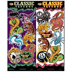 Classic Tattoos Series 1 Tattoos (In Folders) 300 Count Box