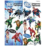 DC Comics Superheroes Tattoos (In Folders) 300 Count Box