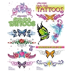 Girls Club Glitter Tattoos (In Folders) 300 Count Box