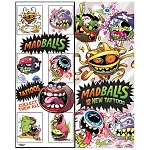 Madballs Tattoos (In Folders) 300 Count Box