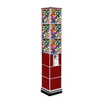 Beaver Single Tower Bulk Toy Capsule Vending Machine Tower w/Base