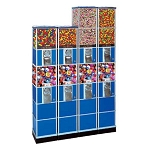 Beaver Double Decker Bulk Toy Capsule Vending Machine Tower w/Base