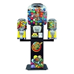 Bounce-A-Roo Bounce Balls, Candy, Gumball & Toy Capsule Vending Machine w/Wings