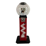 The Rattler Zig Zag 27mm Bounce Balls Vending Machine w/Large Capacity Globe