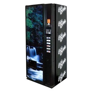 Dixie Narco 276 Factory Refurbished (Slim Panel Door) Single Price 6 Selection All Can Soda Vending Machine