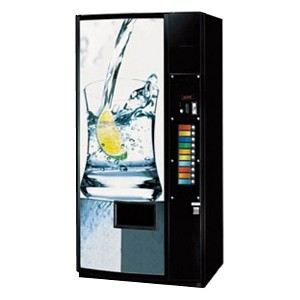 Royal 650 Merlin IV Factory Refurbished (Panel Door) Multi-Price 10 Selection Bottle / Can Soda Vending Machine