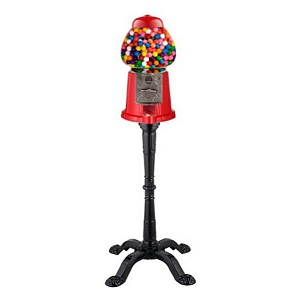 King Carousel Antique Style 15-inch Home & Gift Gumball Vending Machine w/Stand