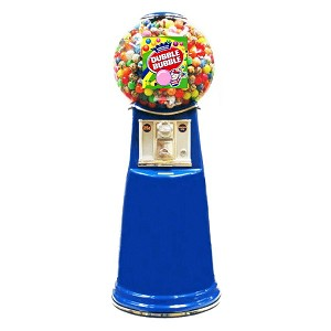 Junior Giant Globe Spiral Gumball Vending Machine w/Extra Large Capacity Globe