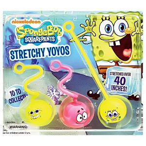 "SpongeBob SquarePants Yo-Yo Balls (2.0"" Toy Filled Capsules) 250 Count Box"