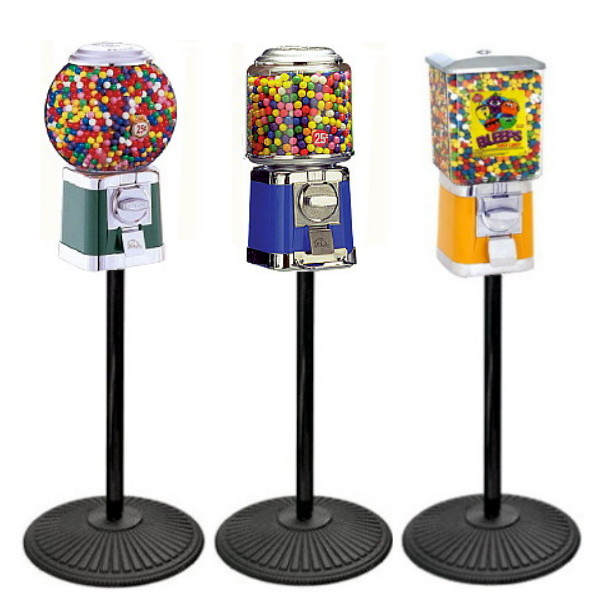 Candy Machines w/Stand