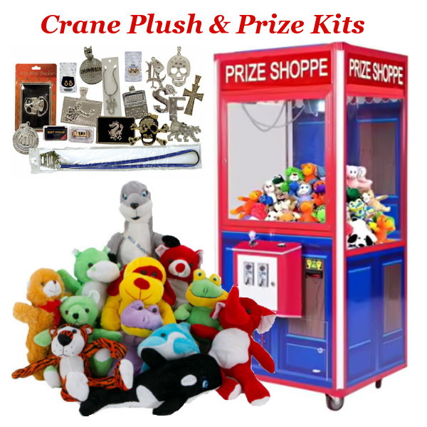 Crane Plush & Prize Mixes