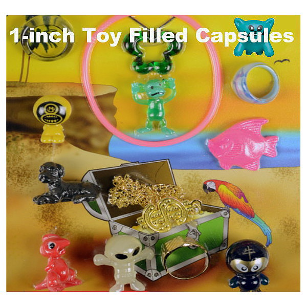 1-inch Toy Filled Capsules