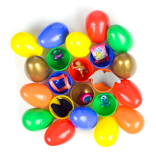 Candy & Toy Filled Eggs