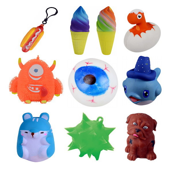 Squishies - Lite-Up Puffers