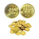 Golden Brass Tokens - 0.984