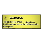 Small Child Choking Hazard Labels (20 Label Pack)