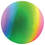 18-inch Inflatable Rainbow Vinyl Balls - 48 Balls per Box