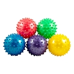 3-inch Inflated Assorted Knobby Balls - 288 Count Box