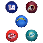 5-inch Inflatable NFL Knobby Balls 160 Count Box