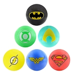 5-inch Inflatable DC Comics Hero Logo Vinyl Balls - 250 Count Box