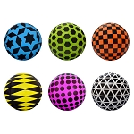 5-inch Inflatable Geo Balls 250 Count Box
