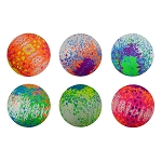6-inch Inflatable Neon Graffiti Balls - 200 Count Box