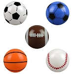 6-inch Inflatable Sports Balls 250 Count Box