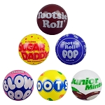 6-inch Inflatable Tootsie® Brands Vinyl Balls 250 Count Box