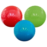 7-inch Inflatable Assorted Knobby Balls - 250 Balls per Case