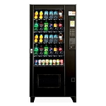 AMS BEV-30 Factory Refurbished (Live Display) Multi-Price 30 Selection Cold Drink Vending Machine