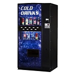 Dixie Narco 501E Factory Refurbished (Live Display) Multi-Price 9 Selection Bottle / Can Soda Vending Machine