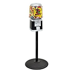 VendPro Premium Classic 15-inch Barrel Head  (Metal Body) Candy Vending Machine w/Retro Stand