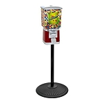 VendPro Premium Classic 15-inch Square Head (ABS Body) Candy Vending Machine w/Retro Stand