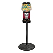 VendPro Ultra Classic Candy Vending Machine w/Locking Cash Drawer w/Retro Stand