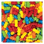 Oh Baby Coated Candy Pacifiers (11,000 Pieces) 22 lb. Case