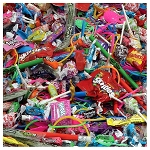 Candy Crane & Toy Mix #1 - 9,600 Count Case